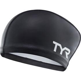 TYR Comfort Cuffia in silicone per capelli lunghi Bambino, black